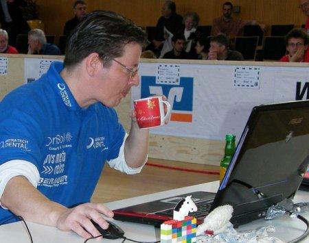Новый рекорд игры вслепую в шахматы осуществил Марк Ланг