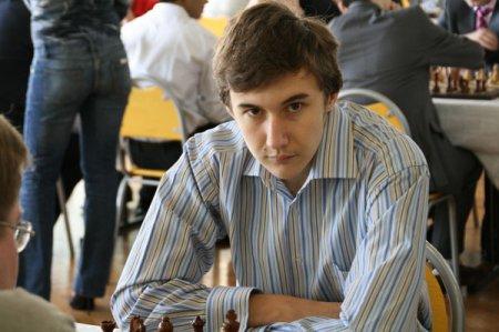 Карякин Сергей - шахматный вундеркинд
