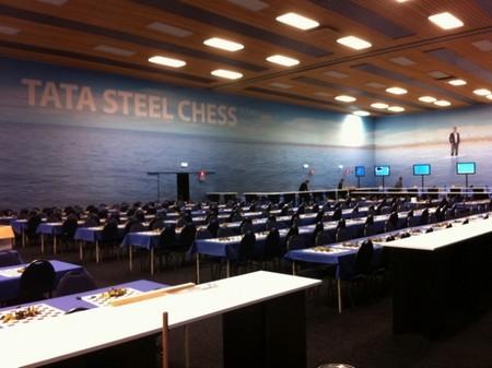Турнирный зал Tata Steel 2012
