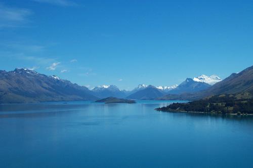 Квинстаун в Новой Зеландии