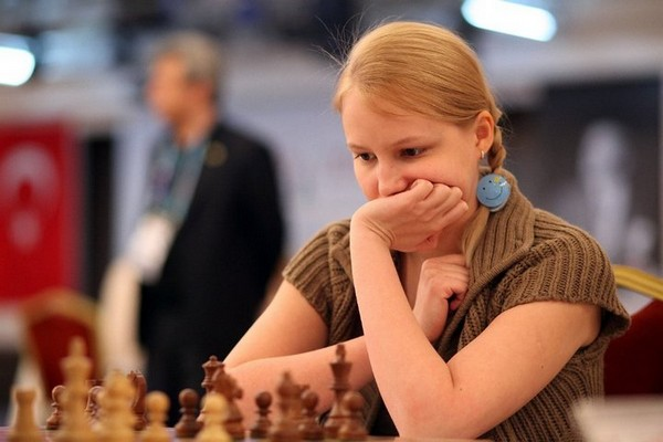 Триумф Валентины Гуниной - она стала чемпионкой Европы по блицу 2012