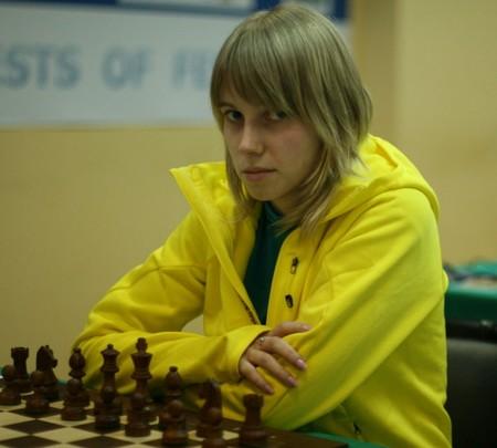 Дина Дроздова стала чемпионкой Москвы среди женщин 2012