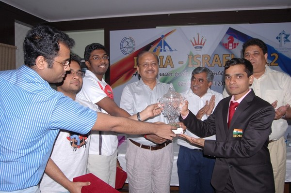 В Нью-Дели прошел товарищеский матч между командами Израиля и Индии