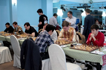 Командный чемпионат России среди мужчин 2012