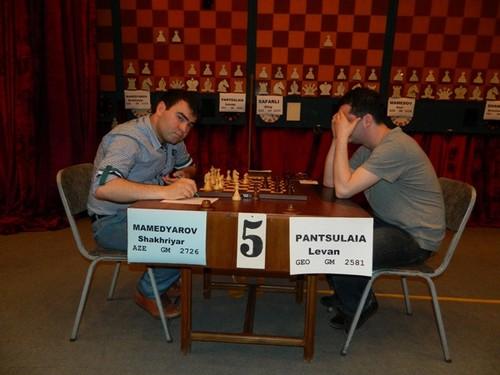 Завершился товарищеский матч по шахматам между Грузией и Азербайджаном