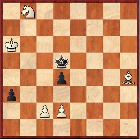 Выигрыш белых в 7 ходов