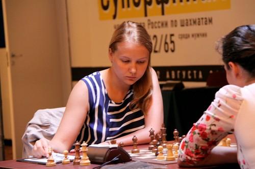 Валентина Гунина - участница суперфинала чемпионата России