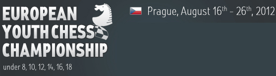 В Праге начался юношеский чемпионат Европы