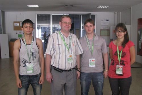Состав сборной России на чемпионате мира среди студентов 2012