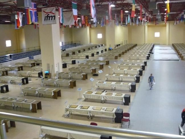 Турнирный зал Олимпиады в Стамбуле