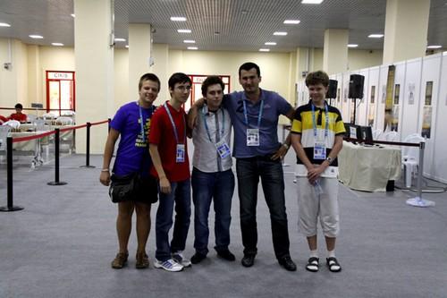 Победители юношеской Олимпиады