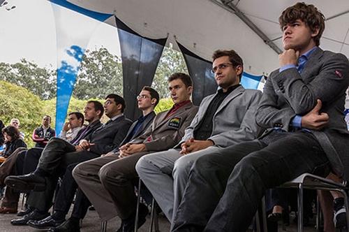 Участники финала большого шлема 2012 года