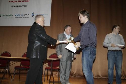Дмитрий Бочаров - победитель