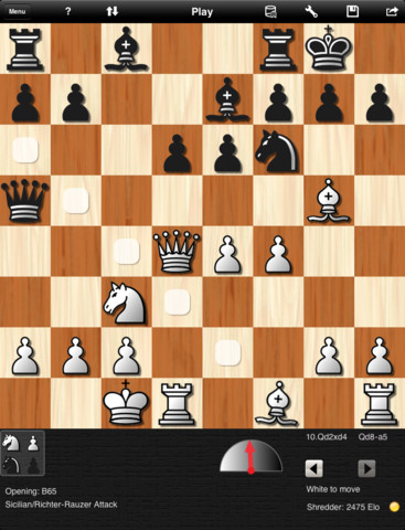 Shredder Chess для ipad