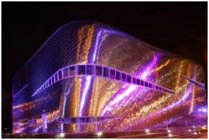 Здание, где будет проводиться чемпионат мира среди женщин 2012 года