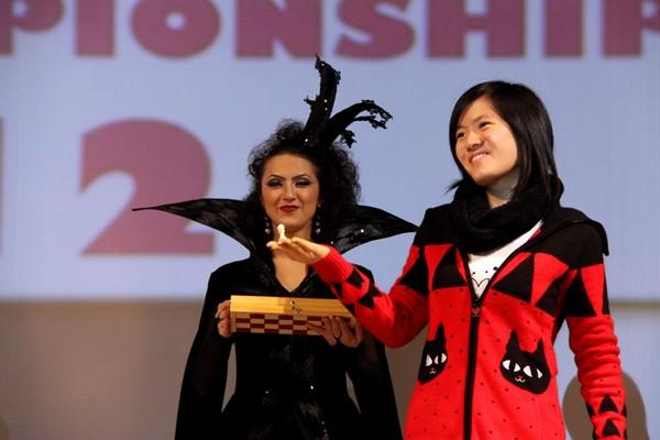Моя Любимая Хоу Ифань на открытие чемпионата мира среди женщин 2012 года
