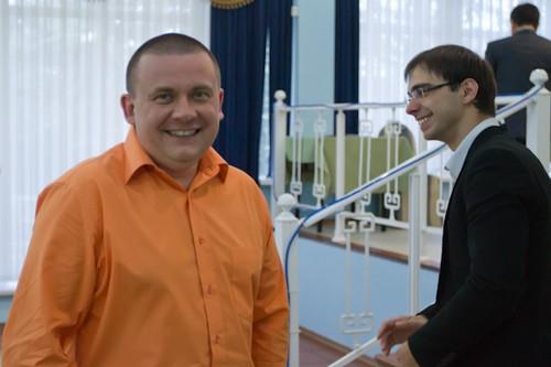 Сергей Рублевский и Александр Рязанцев - участники чемпионата Европы по блицу 2012