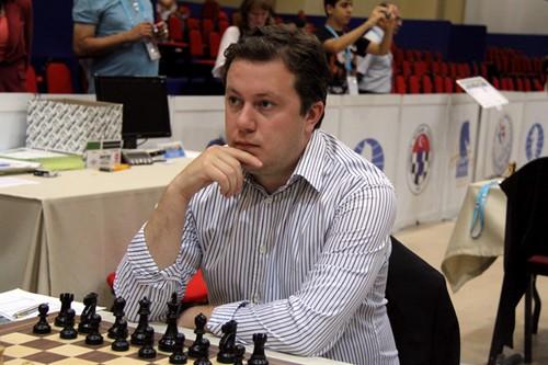 Аркадий Найдич на чемпионате Европы по рапиду 2012