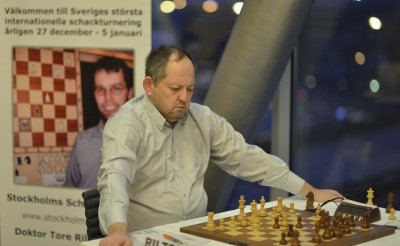 Илья Смирин - на данный момент лидер турнира
