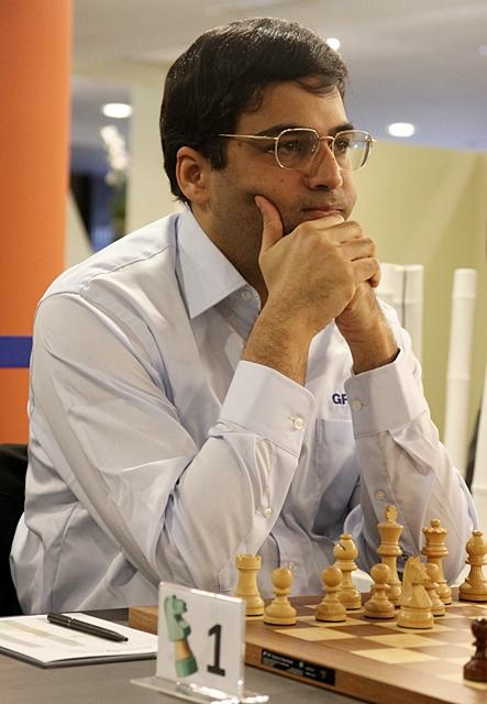 Виши Ананд - главный фаворит GRENKE Chess Classic 2013