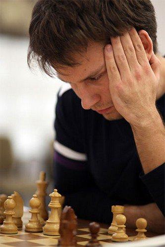 Украинский гроссмейстер Андрей Волокитин