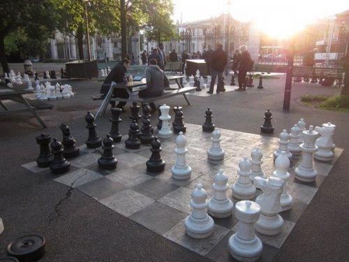 Большие шахматы - Женева 2013