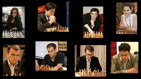Фото участников турнира Chess Masters 2013