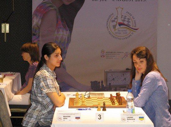 Екатерина Лагно на Чемпионате Европы 2013