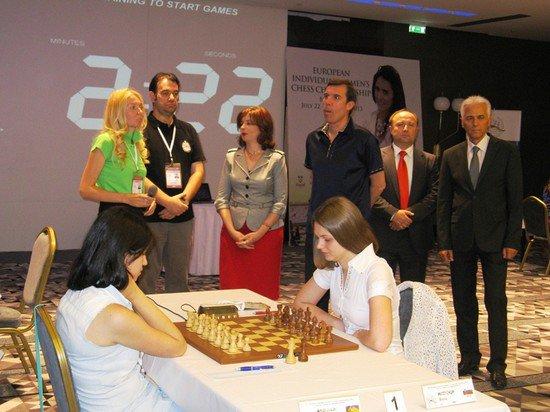 Анна Музычук на Чемпионате Европы 2013