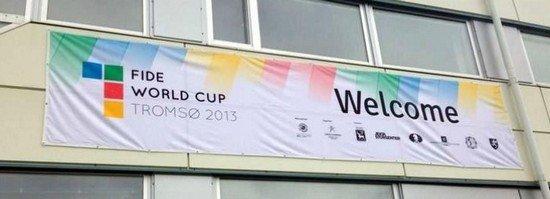 Вывеска Кубка мира 2013