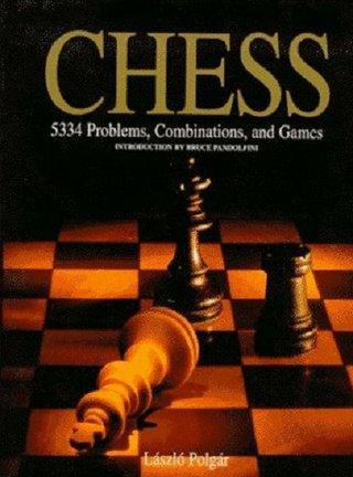 "Обложка книги ""5334 шахматных комбинации"""