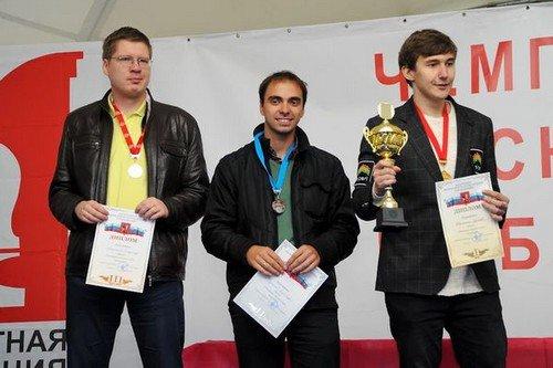 Чемпионом Москвы по блицу 2013 стал Сергей Карякин