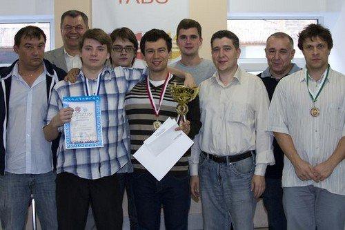 Участники финала мемориала Чепукайтиса 2013, проходившего в Санкт-Петербурге