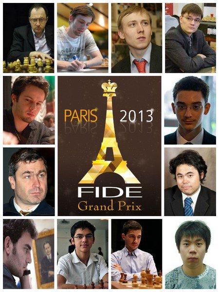Участники 6-го этапа Гран-При в Париже 2013