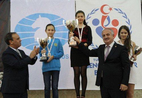 Александра Горячкина чемпионка мира среди девушек до 20ти лет