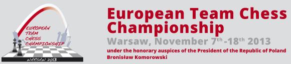 Командный чемпионат Европы в Польше 2013 онлайн