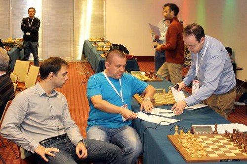 Александр Рязанцев, Сергей Рублевский (старший тренер) и Евгений Наер
