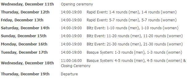 Расписание интеллектуальных игр в Пекине 2013