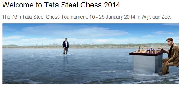 Супертурнир Tata Steel 2014 в Вейк-ан-Зее онлайн