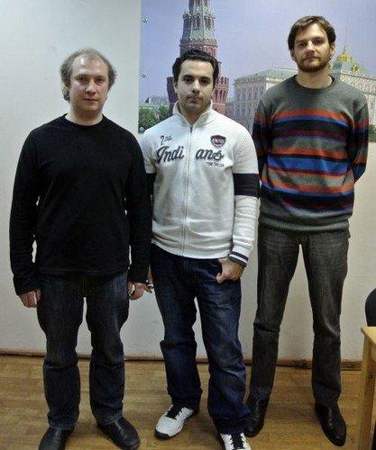 Андрей Девяткин, Сергей Григорьянц и Борис Грачев