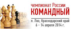 Командный чемпионат России 2014