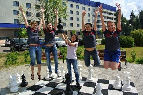 Женская сборная России выиграла Олимпиаду в Тромсе, 2014