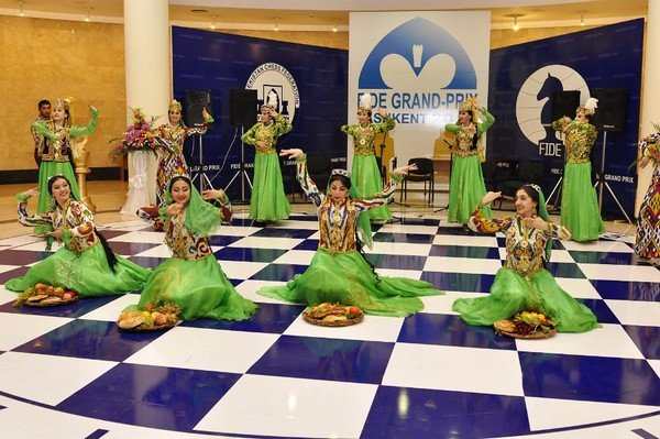 На церемонии открытия, Ташкент 2014