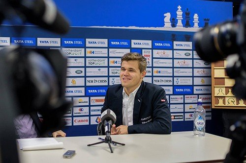 Магнус Карлсен - победитель Tata Steel