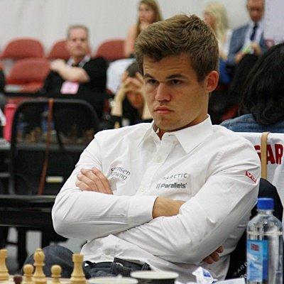 Grandmaster Magnus Carlsen - рейтинг фаворит