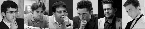 Участники Zurich Chess Challenge 2015