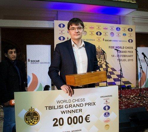 Евгений Томашевский - победитель 3-го этапа Гран-При в Тбилиси
