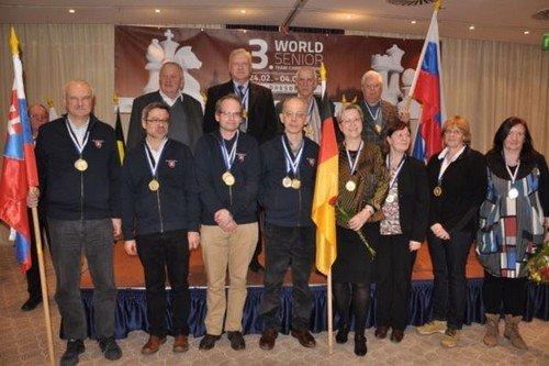 Чемпионат мира среди сеньоров 2015 завершен