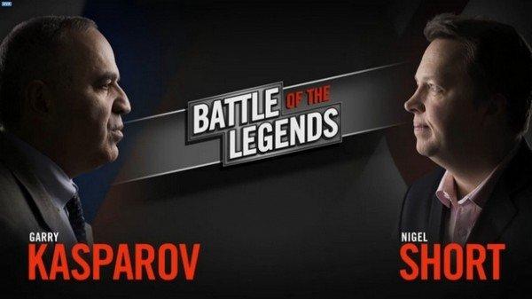 Матч Каспаров - Шорт в США завершился победой Каспарова