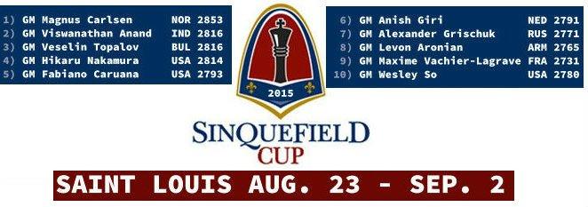 Кубок Синкфилда 2015, Сент-Луис, онлайн